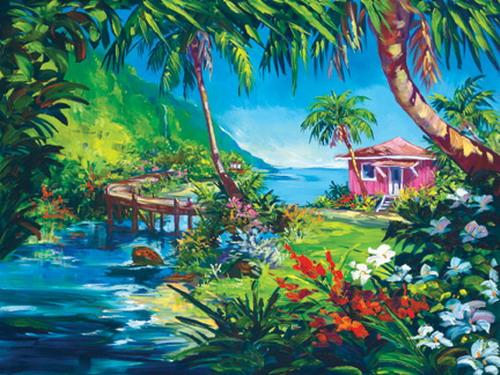 Земной рай - художник Стив Бартон