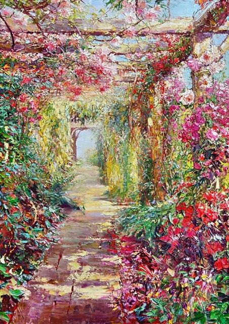 Гармония цветов и красок - живопись Марии Щербининой
