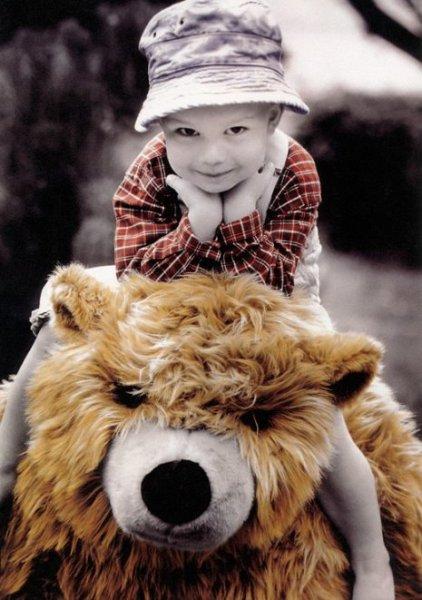 Фотографий детей в стиле ретро от Kim Anderson
