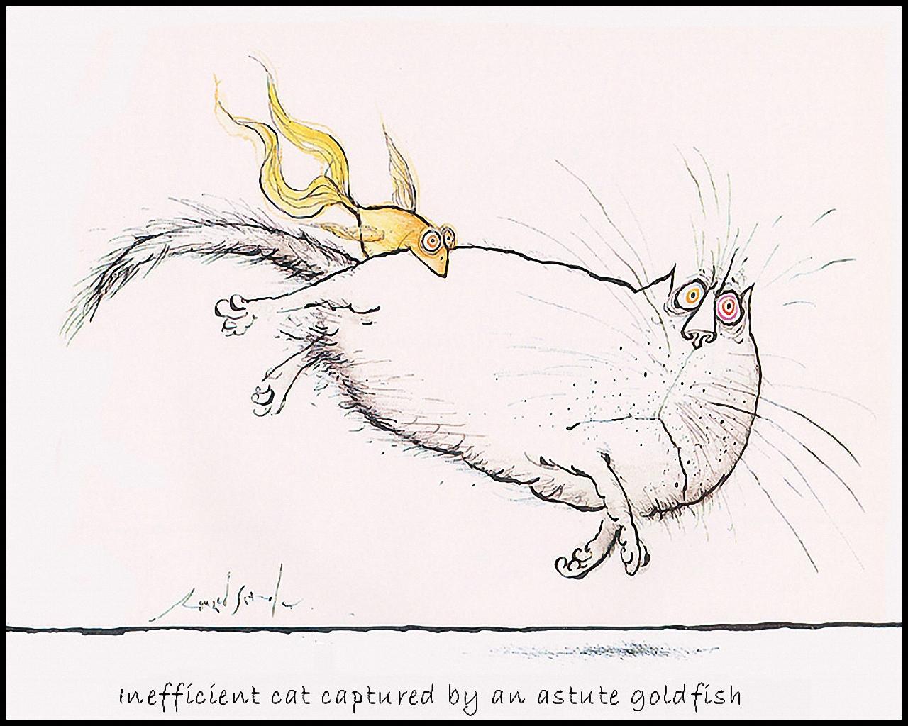 Нарисованные кошки часть 5 картины