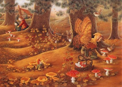 Сказочные фантазии SHIRLEY BARBER