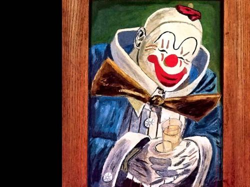 Клоуны (30 работ)