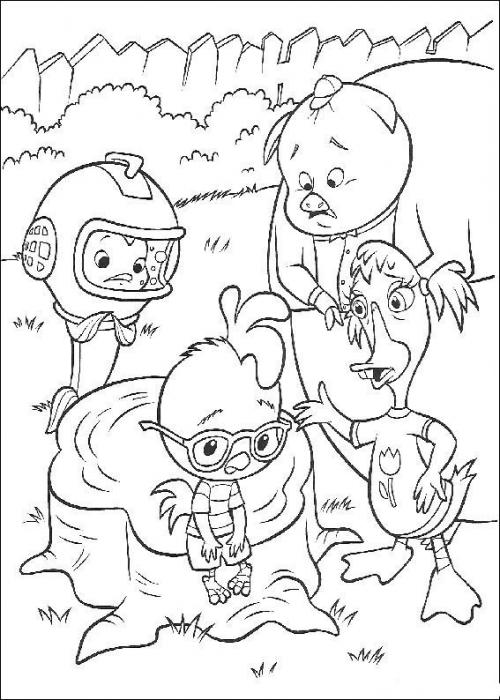 Раскраски для детей