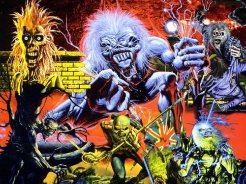 Iron Maiden - обои и картинки
