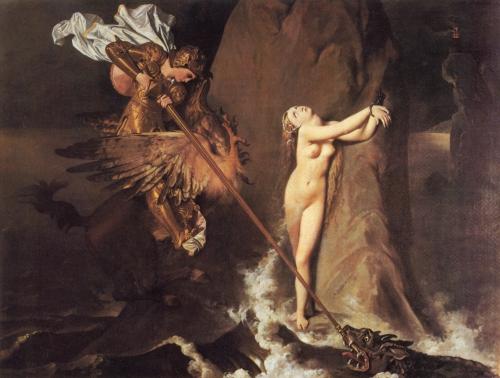 Классическая живопись от  Ingres Madame