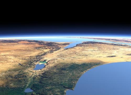 Орбитальные снимки Земли и Марса