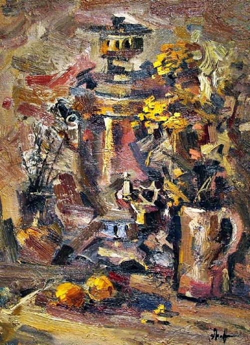 Экспериментальная живопись Ивана Агеева часть первая