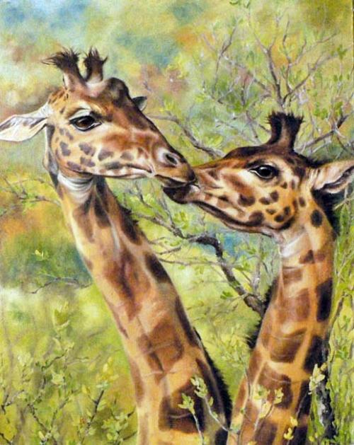 В мире животных - рисунки Неприятель Юлии Александровны
