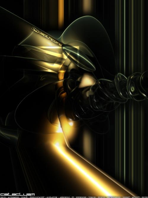 "Подборка в стиле Абстракт-Арт ""Матрица"". Часть 1"