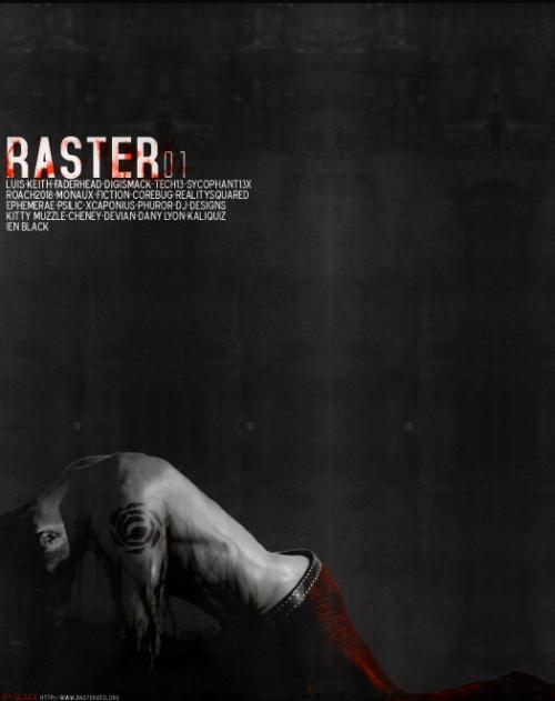 Некоммерческое сообщество дизайнеров Raster. 285 работ. Официальный пак.