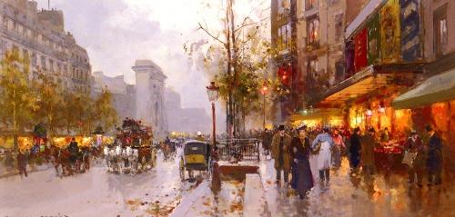 Cortes Edouard Leon - Живопись