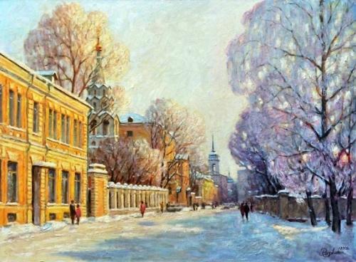 Москва (времена года) - Разживин И.В.
