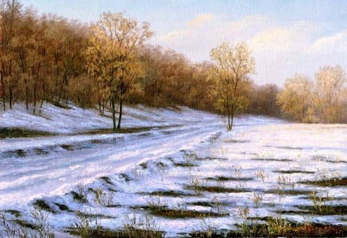 Времна года - художник Игорь Михайлов