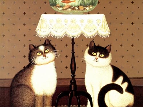 Картины художников Tomas Kinkade, Jasek`a Yerka, Geoffrey Tristram