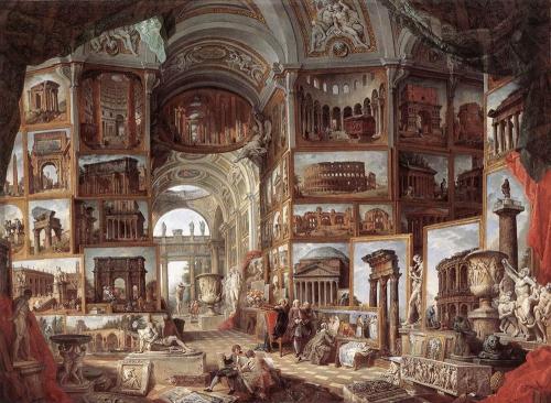 Классическая живопись от Nevsepic.com.ua - Giovanni Paolo Pannini