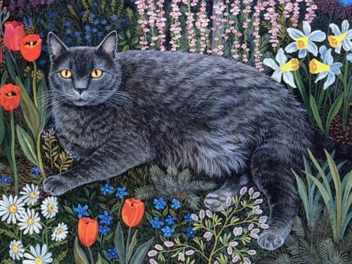 Нарисованные кошки - часть 2