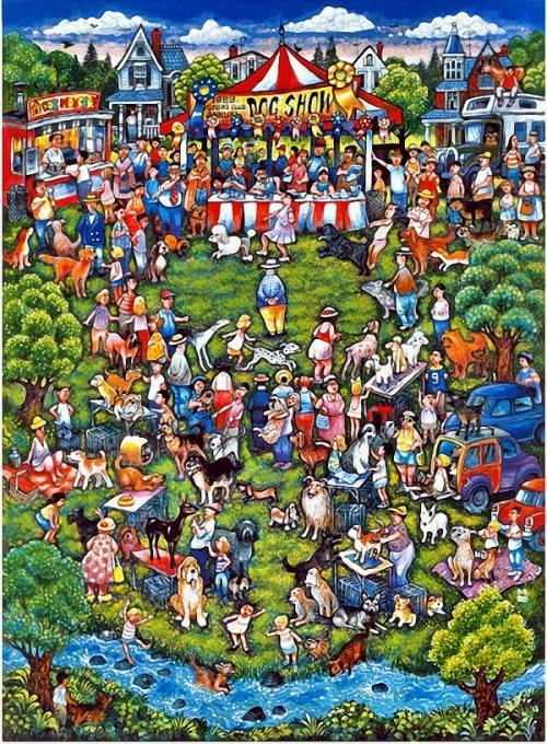 Картинки для пазлов - художник Bill Bell
