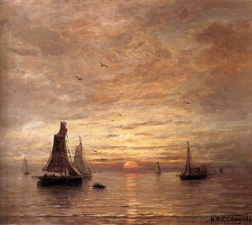 Классическая живопись от Nevsepic.com.ua - Hendrik Willem Mesdag
