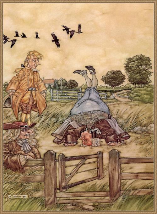 Сказочные иллюстрации - Angel Dominquez