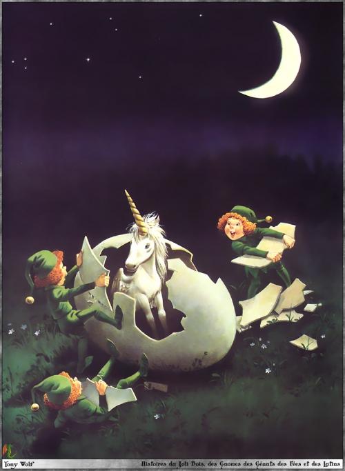 Сказочные иллюстрации - Tony Wolf