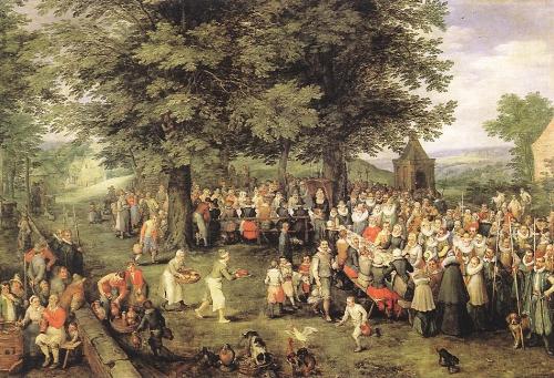 Классическая живопись от Nevsepic.com.ua - Jan the elder Brueghel