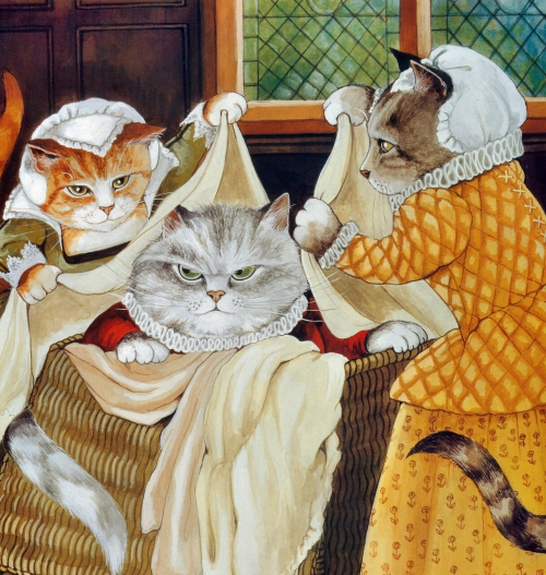 Нарисованные кошки - часть 3 (Susan Herbert)