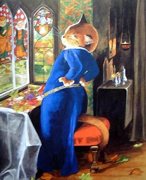 Нарисованные кошки - часть 4 (Susan Herbert)