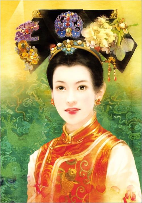 Der Jen. Национальный портрет Китая. 77 работ.