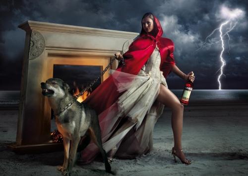 Eva Mendes - Календарь Campari 2008