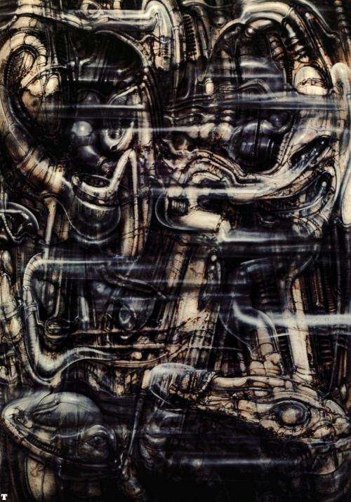 Создатель образа Чужого - H.R. Giger.
