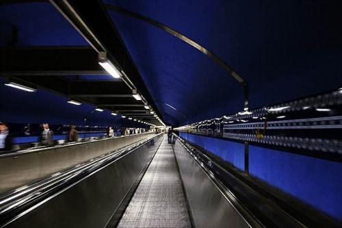 Стокгольмское метро. Дизайн интерьера. 18 фото.