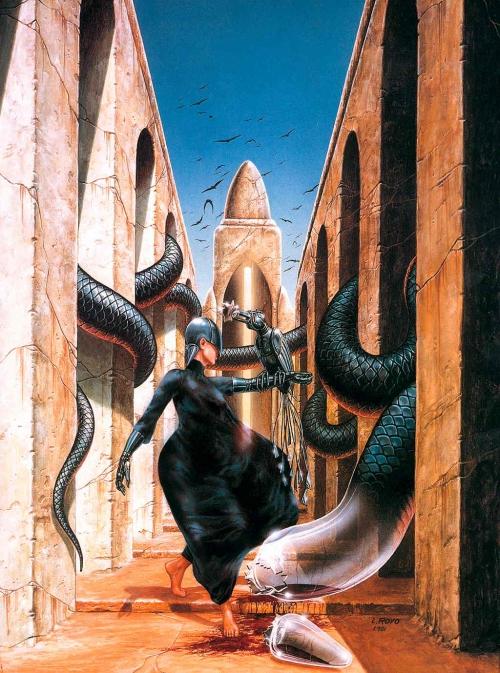 Подборка работ от Luis Royo (Часть 1)