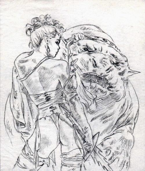 Подборка работ от Luis Royo (Часть 2)