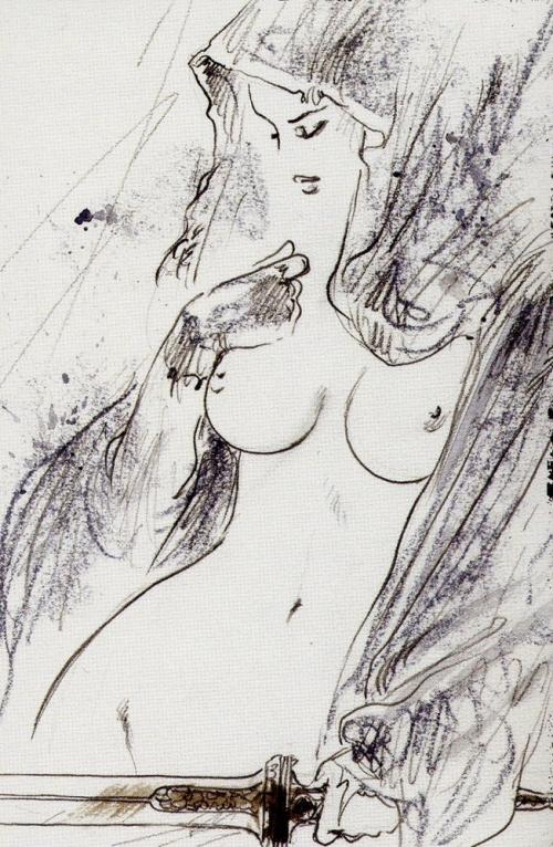Подборка работ от Luis Royo (Часть 3)