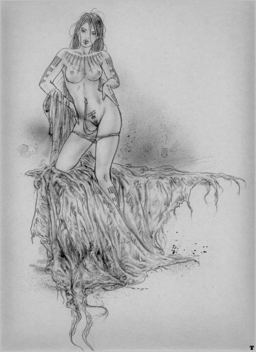 Подборка работ от Luis Royo (Часть 4)