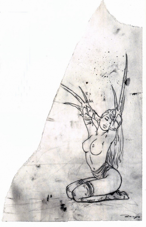Подборка работ от Luis Royo (Часть 6)