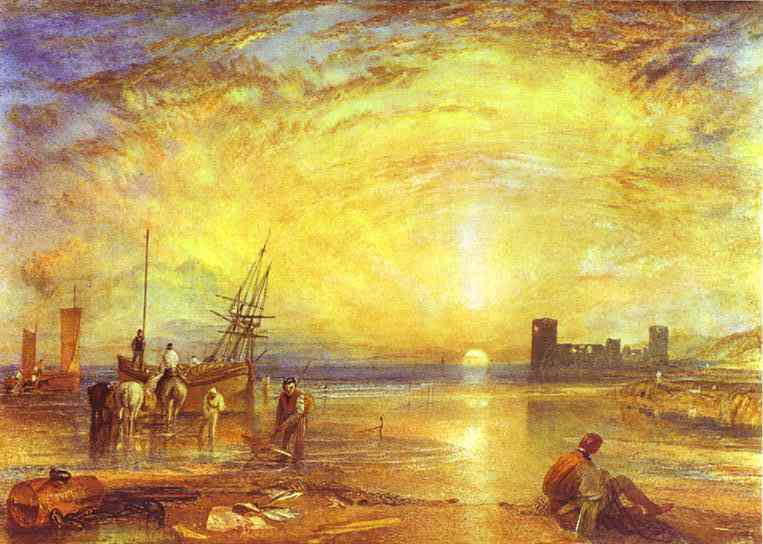an interpretation of the slave ship a painting by j m w turner Turner sought to record this sad account in his painting, the fighting temeraire it is said that turner tied himself to the mast of a ship j mw turner.