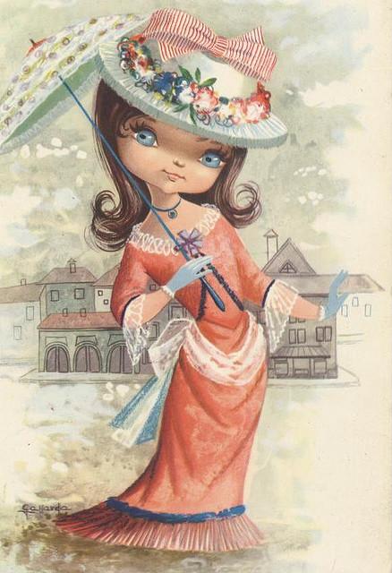 Винтажные открытки от Gallarda (127 картинок)