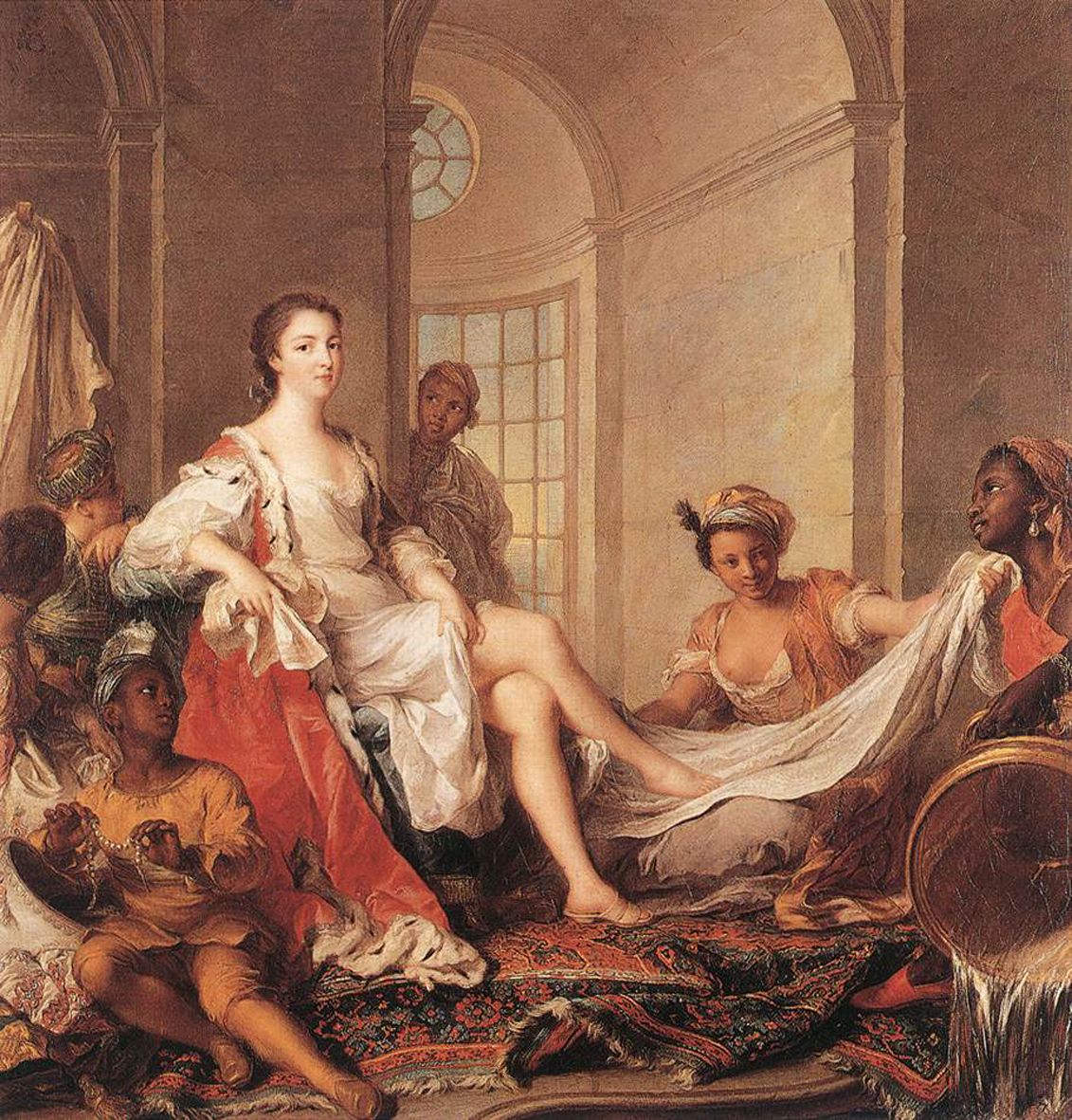 Французская госпожа и ее раб @ xxx-kartinki.ru