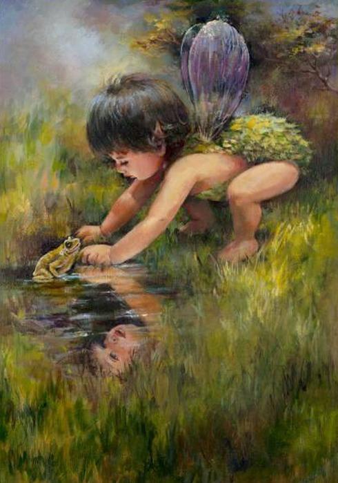 Работы художницы Mary Baxter St. Clair (46 картинок)
