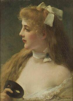 Французский художник Jules Frederic Ballavoine (1855-1901) (50 картинок)
