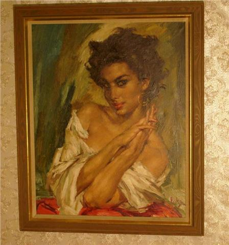 Работы художника Charles Roka (47 картинок)