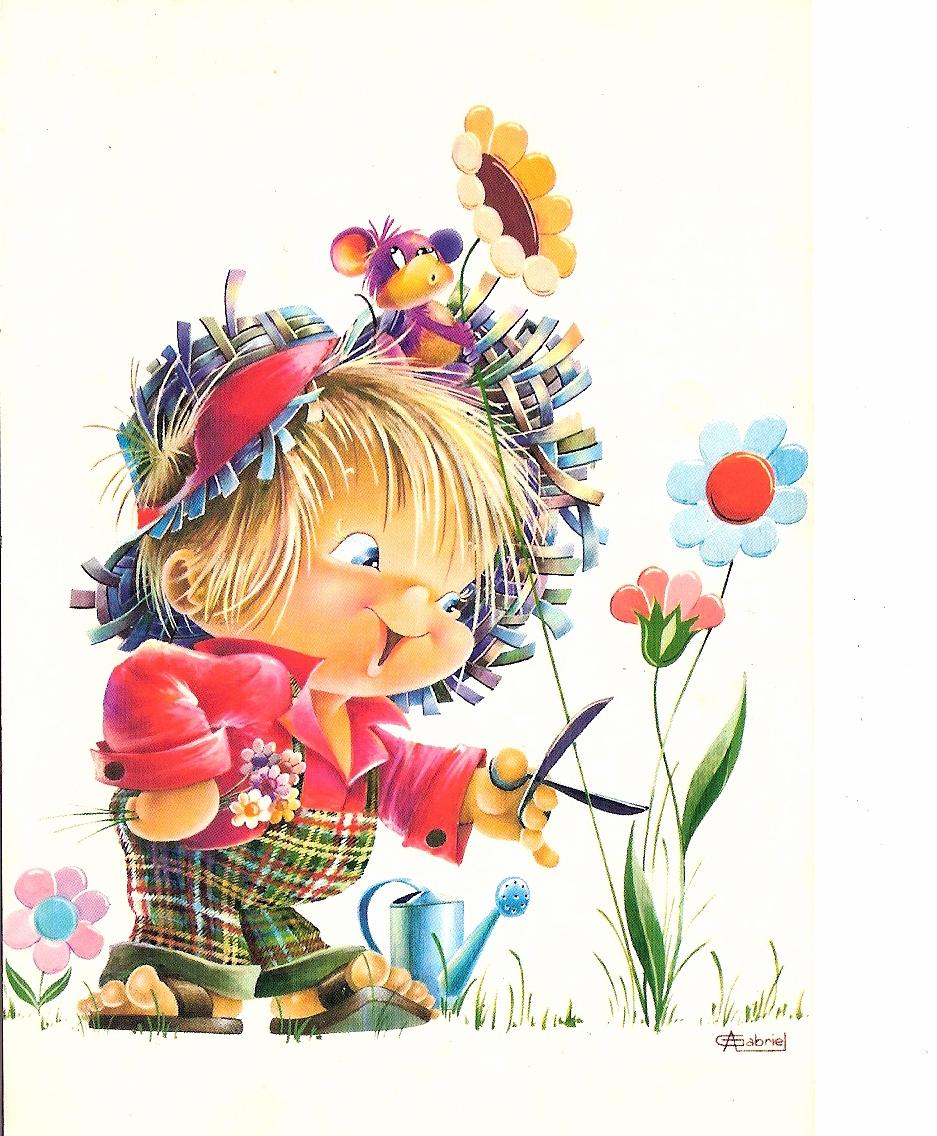 Прикольные картинки детей открытки