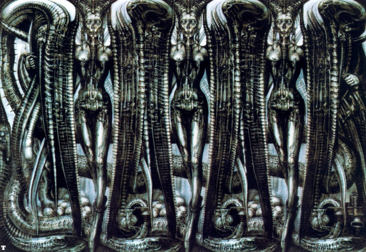 HR GIGER ARh H R Giger Timothy Leary   amazoncom