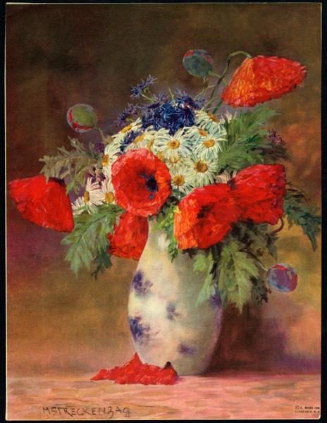 Натюрморты Max Streckenbach (Germany, 1863-1936) (34 картинок)