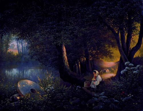 Работы художника Виктора Захаровича Цыганова (70 картинок)