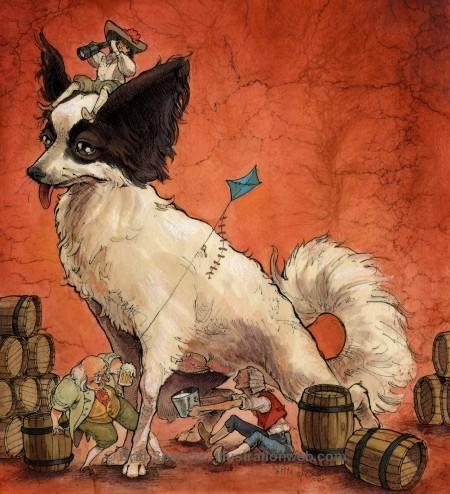 Иллюстратор Britt Spencer (53 картинок)