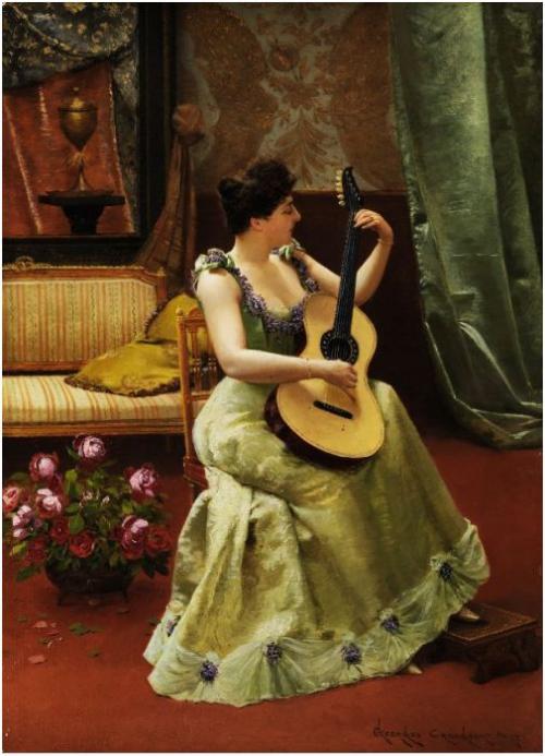 Бельгийский художник Georges Croegaert (1848-1923)