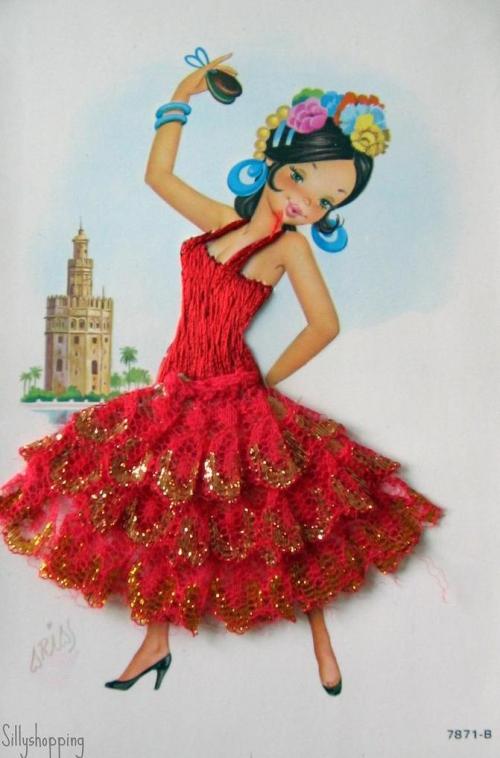 Коллекция открыток 1960-70-ых годов (Испания)