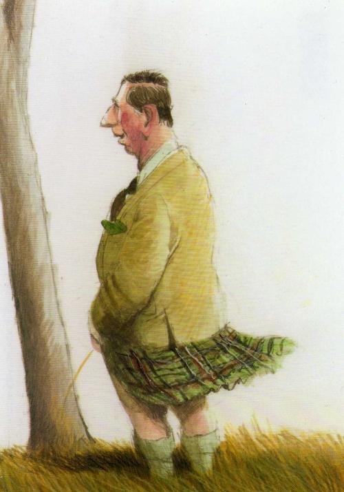 Художник-карикатурист Peter Gut